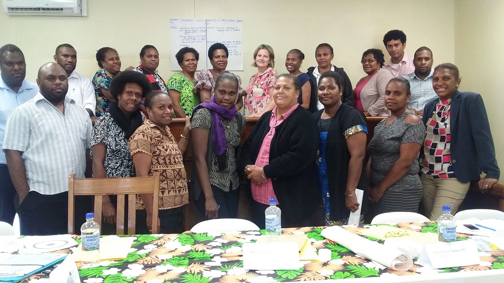 Gender Family violence workshop group pic